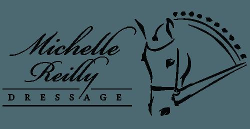 Michelle Reilly Dressage Horse Logo